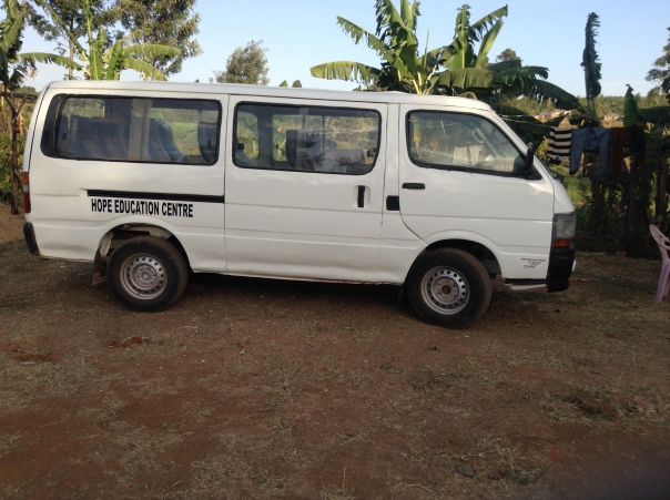 HOPE EDUCATION CENTRE SCHOOL VAN